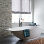 Rolety rzymskie w łazience
